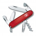 COUTEAU SUISSE VICTORINOX TOURIST ROUGE 12 OUTILS NEUF