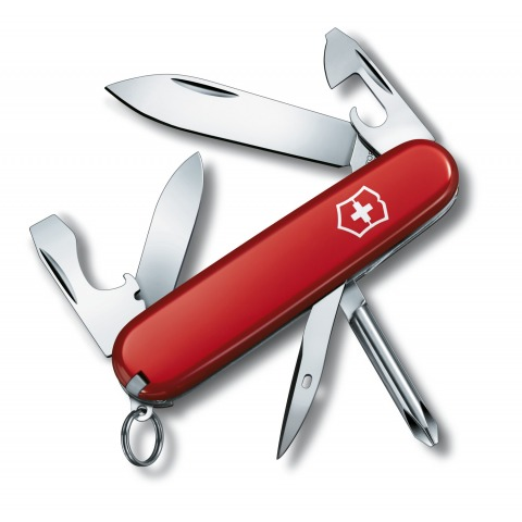 COUTEAU SUISSE VICTORINOX TINKER SMALL ROUGE 12 OUTILS 0.4603