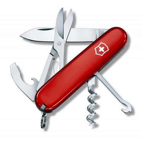 COUTEAU SUISSE VICTORINOX COMPACT 15 OUTILS ROUGE 1.3405