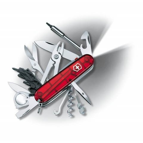 COUTEAU SUISSE VICTORINOX CYBER TOOL LITE CYBERTOOL 36 OUTILS 1.7925.T