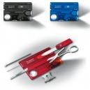 Victorinox - SwissCard Couleur Translucide Lite LED 13 Fonctions - 0.73xx