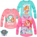 PAT' PATROUILLE PAW PATROL T-SHIRT LICENCE MANCHES LONGUES FILLE 3-8 ANS