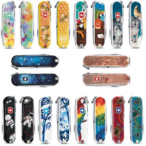 VICTORINOX COUTEAU SUISSE SERIE CLASSIC LE 2017 EDITION LIMITEE ANIMALS WORLD