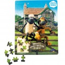SMALLFOOT DESIGN - PUZZLE BOIS 100 PIECES - SHAUN LE MOUTON / 1256