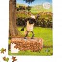 SMALLFOOT - PUZZLE BOIS 100 PIECES - SHAUN LE MOUTON - COURS DE DANSE / 10222