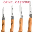 COUTEAU OPINEL CARBONE N° 6 7 8 9 TAILLE AU CHOIX