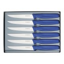 Victorinox - Coffret 6 Couteaux Steak Bleu | 5.1122.6