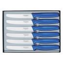 Victorinox - Coffret 6 Couteaux Table Bleu | 5.1132.6