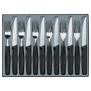 Victorinox - Menagere 12 Pieces Noir | 5.1233.12