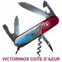 COUTEAU SUISSE VICTORINOX COTE D'AZUR 12 OUTILS